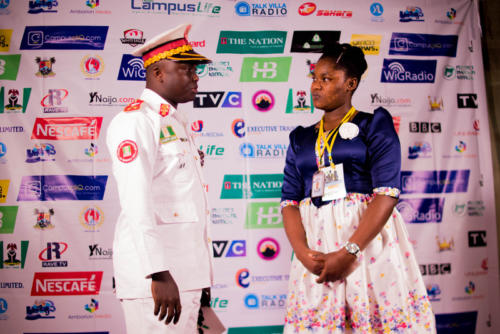 3rd Grand Commander, CFN, at Red Carpet Host at Summit 3.0