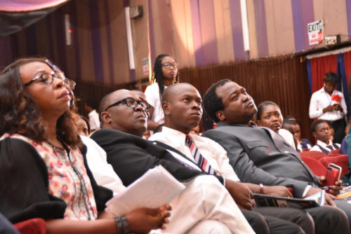 Cross section of Guest Speakers