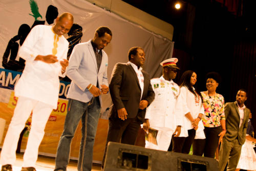 Emeka Okoye, Tonye Cole of Sahara Group and other speakers at Summit 3.0