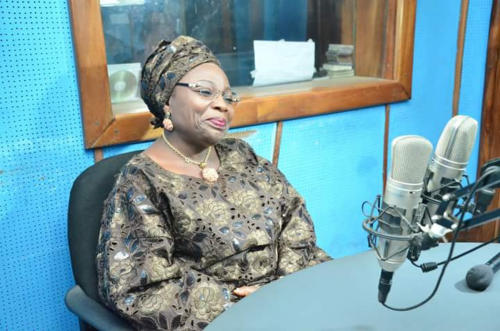 Former Deputy Governor of Lagos, Princess Sarah Adebisi-Sosan(OFR) honours our invitation