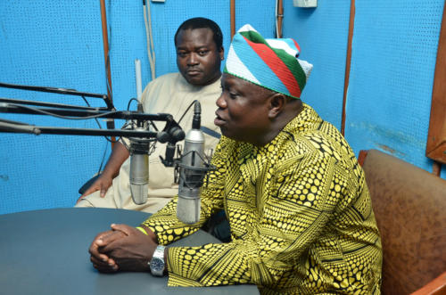 His Excellency, the Executive Governor of Lagos State, Mr Akinwunmi Ambode, on The Ambassadors Radio Show