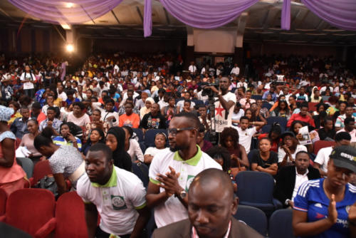 Mammoth crowd at The Ambassadors Summit 2.0 in Lagos