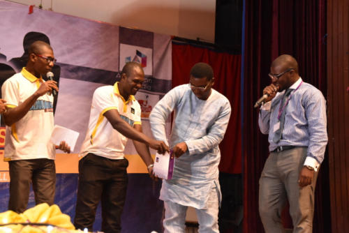 Raffle draw for Winners of the FCMB Scholarship