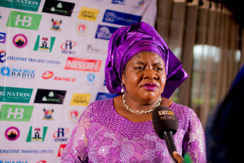 TVC interview of Lagos State Deputy Governor Representative at Summit 3.0