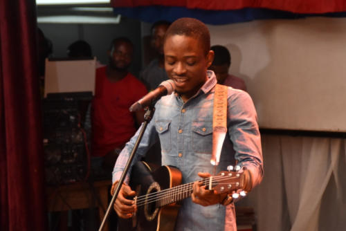 Talented Singer and Guitarist, Seunstics, thrills audience at TAS 2.0