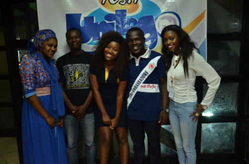 The Crew with Evelle, Nigerian Idol Season IV Winner