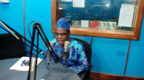 Vice Chancellor, Caleb University, on the Show