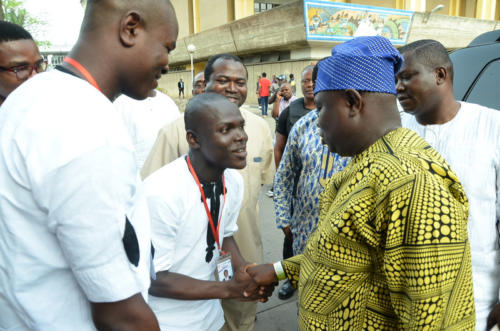 Welcoming His Excellency, Mr Akinwunmi Ambode to UnilagFM